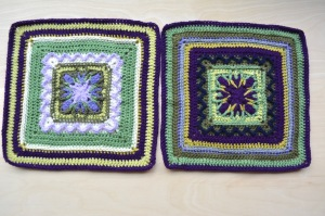 Nuts About Squares, variation of Esme's Winter cottage