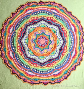 Mandala Madness, pattern by Helen Shrimpton