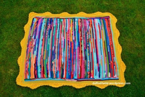 crochet scraps blanket