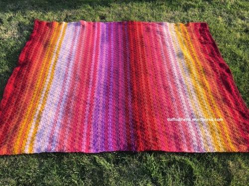 Attic24 Dahlia CAL, crochet blanket
